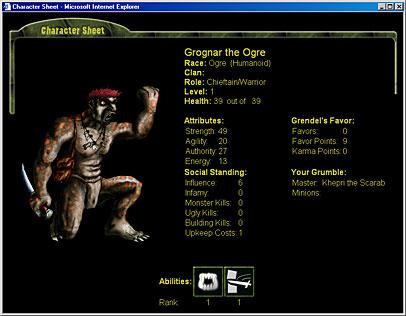 Grendel's Revenge: Play as a Monster! | RPGnet Forums